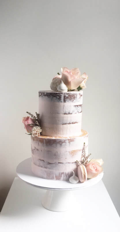2-tier-naked-enagement-wedding-cake